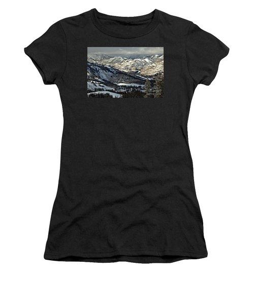 Winter In Big Cottonwood Canyon Women's T-Shirt