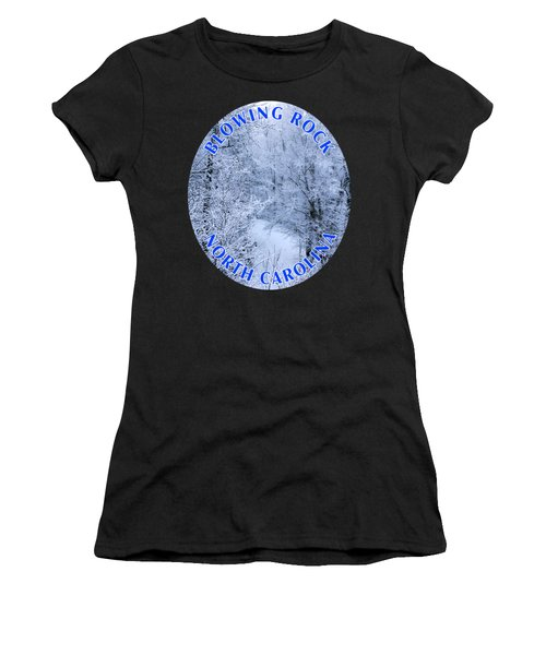 Winter In Blowing Rock T-shirt Women's T-Shirt (Athletic Fit)