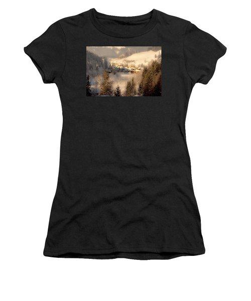 Winter Landscape Salzburger Land Women's T-Shirt