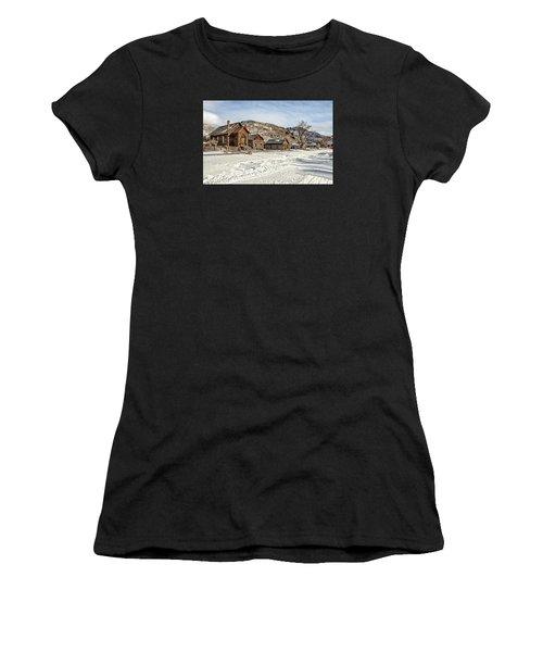 Winter On Main Street Women's T-Shirt