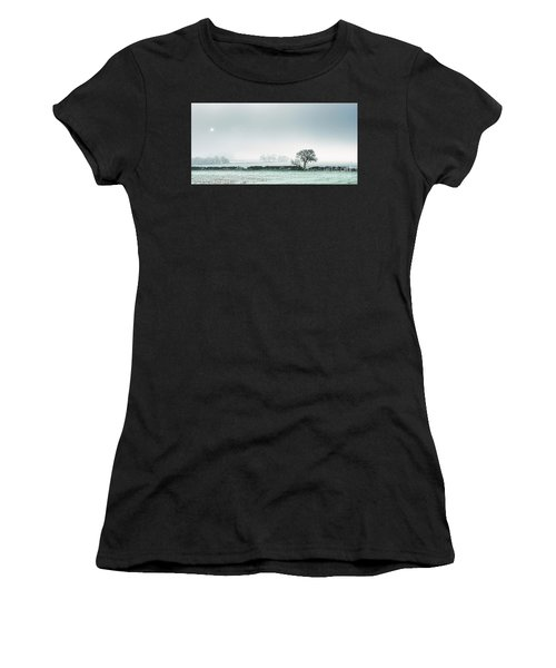 Winter On The Mendips Women's T-Shirt