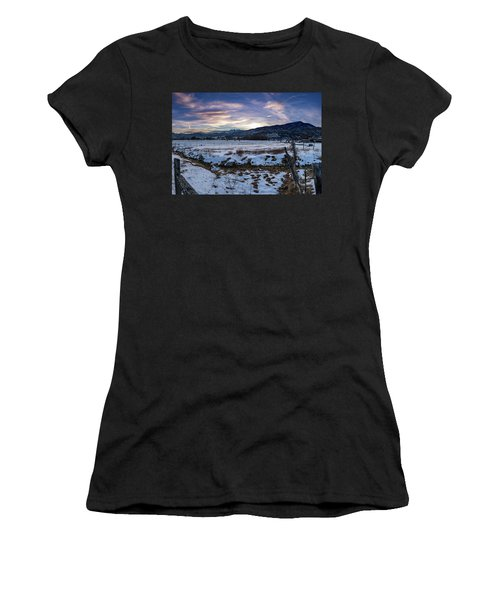 Sunset Range Women's T-Shirt