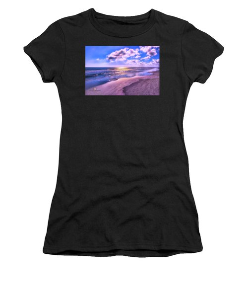 Winter Solstice Sunrise Women's T-Shirt (Athletic Fit)