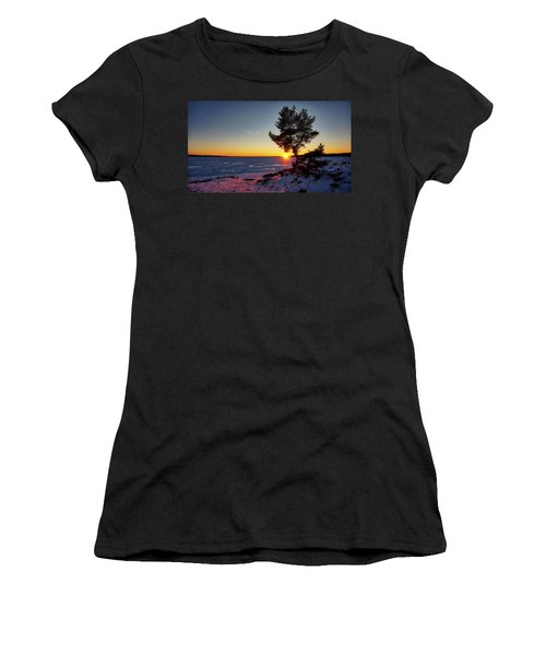 Winter Sunset Women's T-Shirt