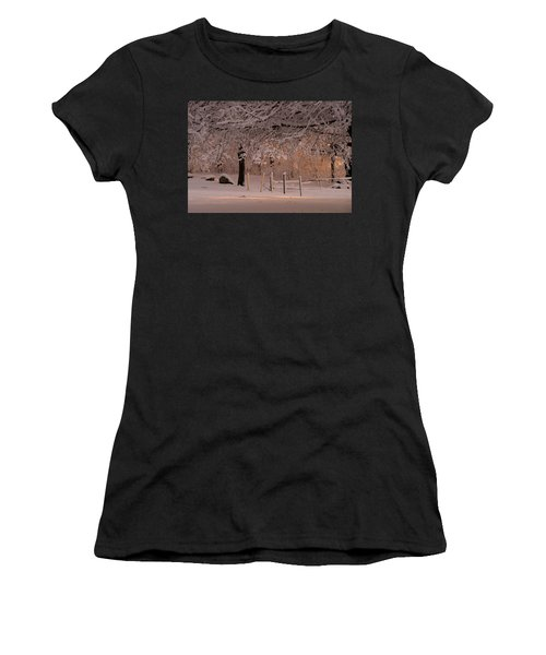 Winter Sunset Ft Hill Park Women's T-Shirt