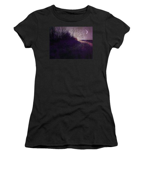 Winter To Spring The Promise Of New Life. Women's T-Shirt (Athletic Fit)
