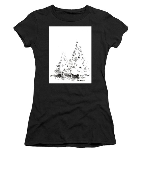 Winter Trees 1 - 2016 Women's T-Shirt