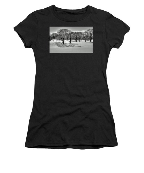 Winter Trees Women's T-Shirt