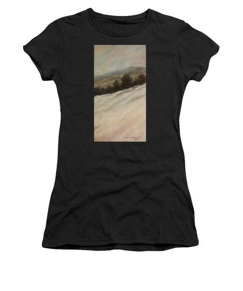 Winter Twilight Women's T-Shirt (Athletic Fit)