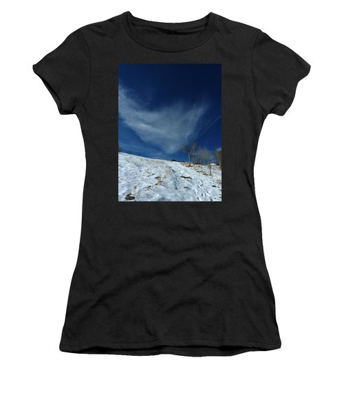 Winter Walk Women's T-Shirt (Athletic Fit)