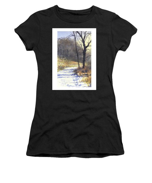 Winter Walk Women's T-Shirt