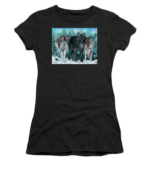 Winter Wolves Women's T-Shirt
