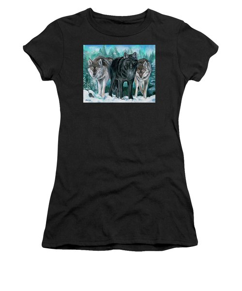 Winter Wolves Women's T-Shirt
