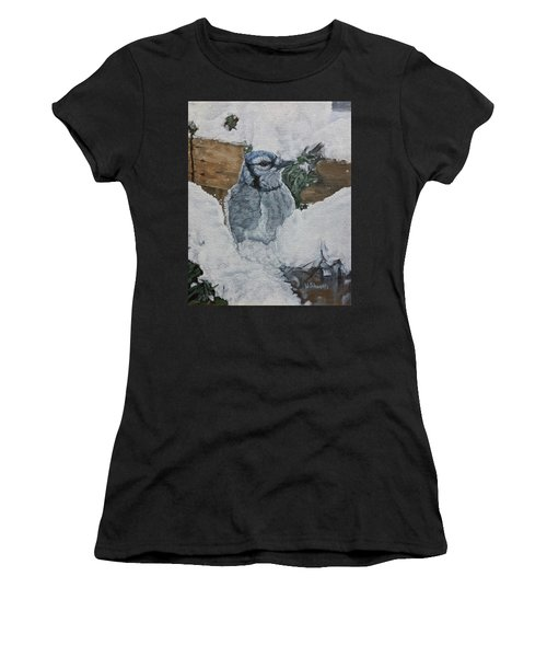 Winters Greeting Women's T-Shirt (Athletic Fit)