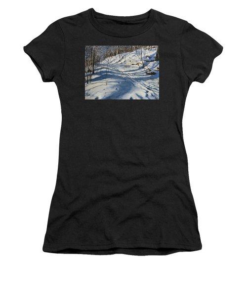 Winter's Shadows Women's T-Shirt