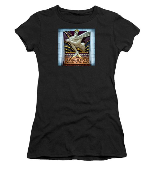 Wisdom And Knowledge Women's T-Shirt (Athletic Fit)