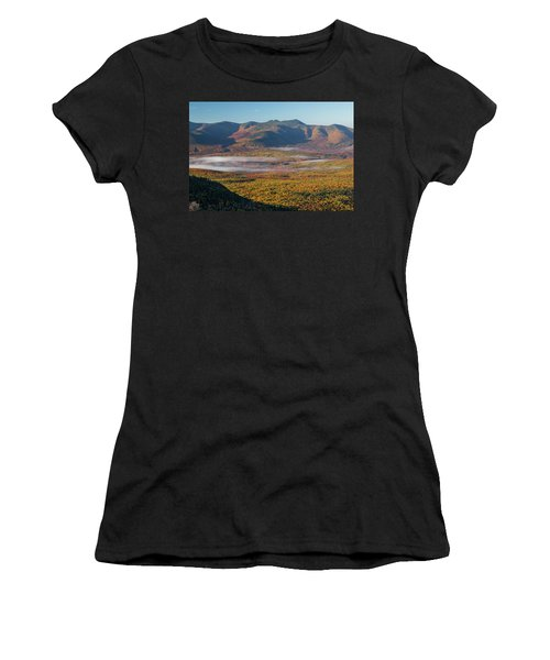 Wispy Autumn Tripyramid Sunrise Women's T-Shirt (Athletic Fit)