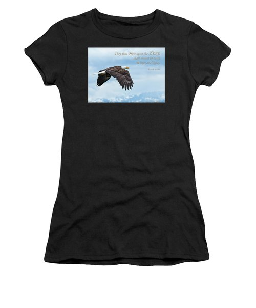 With Wings As Eagles Women's T-Shirt