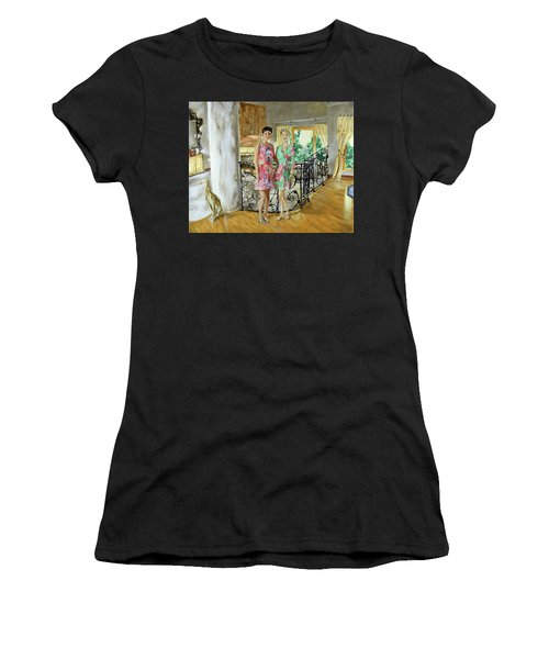 Women In Sunroom Women's T-Shirt