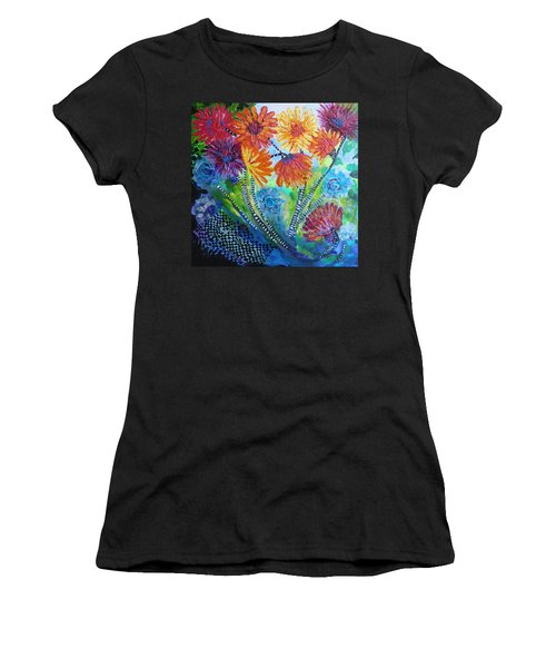 Wonderland Garden Women's T-Shirt (Athletic Fit)