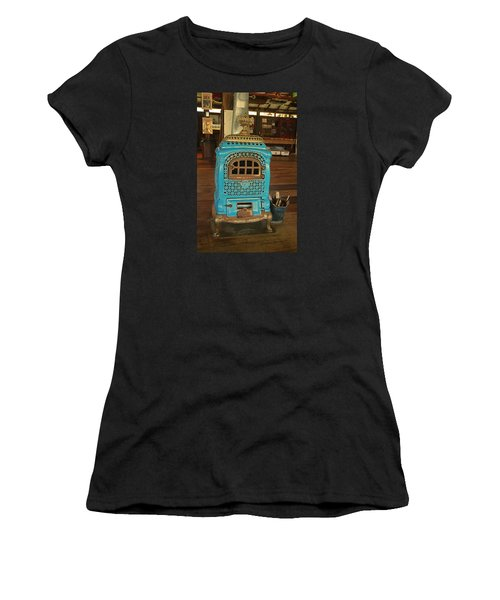 Wood Burning Heater Women's T-Shirt (Athletic Fit)