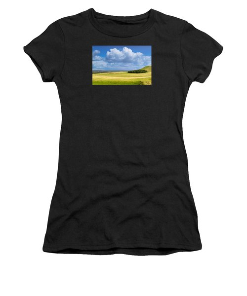 Wood Copse On A Hill Women's T-Shirt