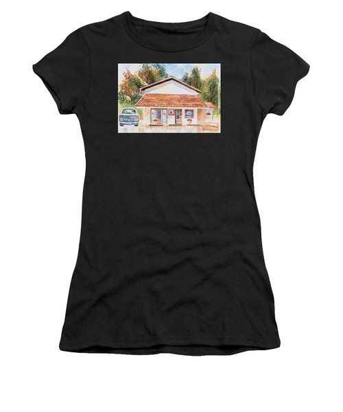 Woodcock Insurance In Watercolor  W406 Women's T-Shirt