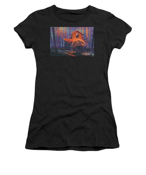 Wooden House Women's T-Shirt