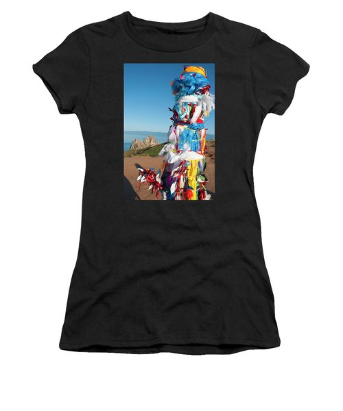 Wooden Shaman Totems  Women's T-Shirt (Athletic Fit)