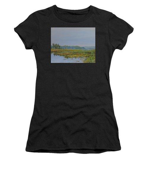 Woodland Lake Women's T-Shirt