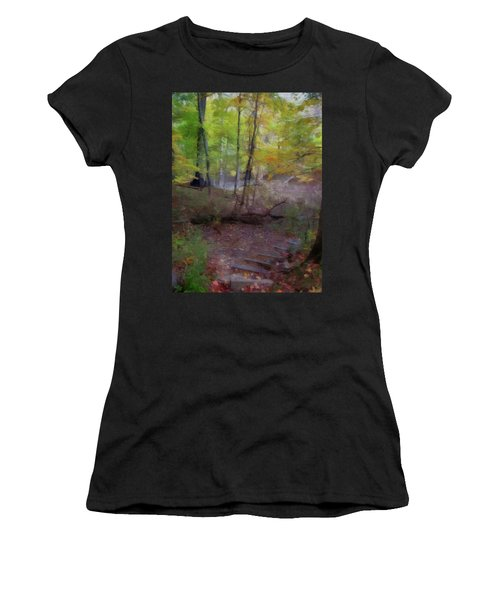 Woodland Steps Women's T-Shirt (Athletic Fit)