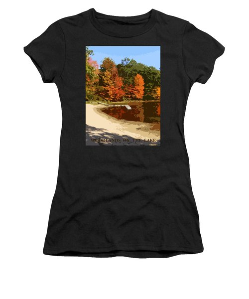 Woodlands On The Lake Women's T-Shirt (Athletic Fit)