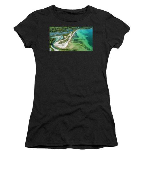 Woodneck Beach Women's T-Shirt