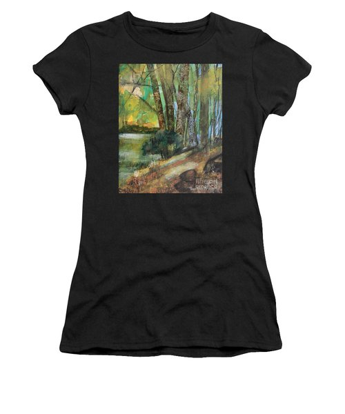 Woods In The Afternoon Women's T-Shirt