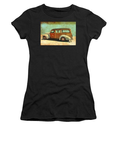Woody - Photo By Bill T. Women's T-Shirt (Athletic Fit)