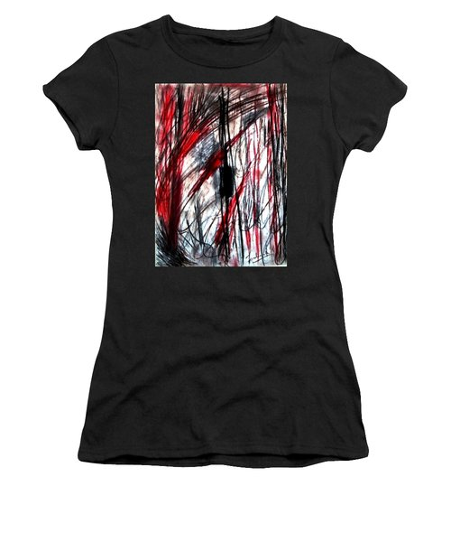 Words Women's T-Shirt (Athletic Fit)