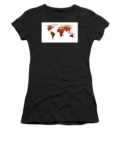 World Of Poppies Women's T-Shirt