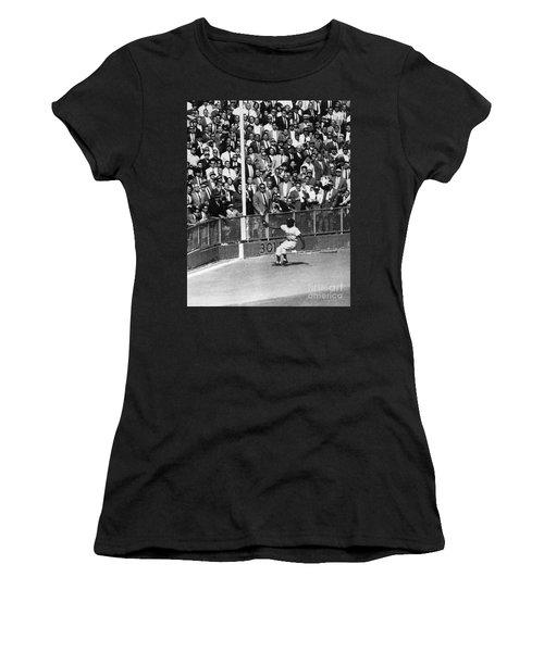 World Series, 1955 Women's T-Shirt (Junior Cut) by Granger