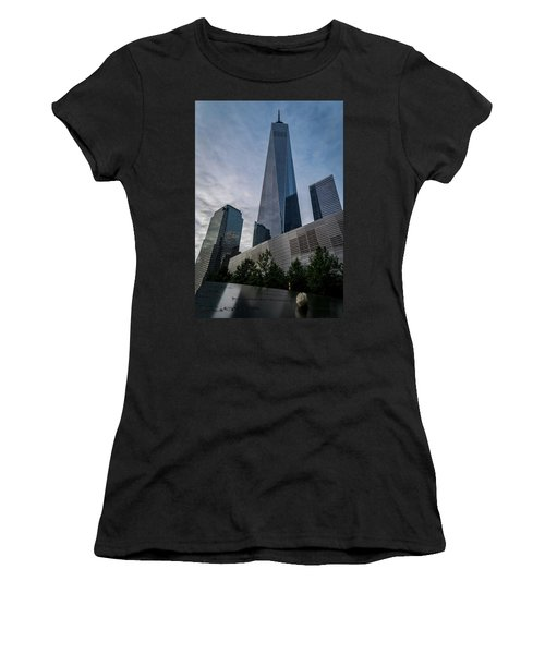 World Trade Center Remember Women's T-Shirt (Athletic Fit)