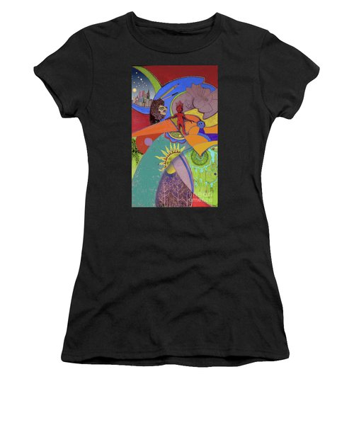 World View Women's T-Shirt (Athletic Fit)