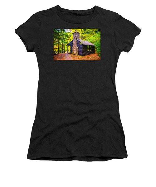 Worlds End Cabin - Paint Women's T-Shirt