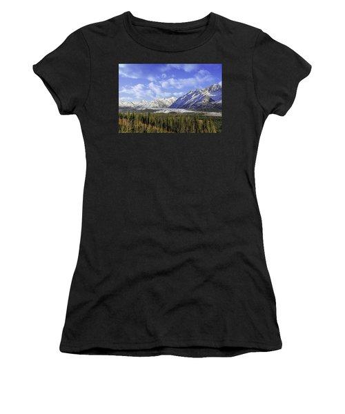 Wrangell Mountains Glacier Alaska Women's T-Shirt