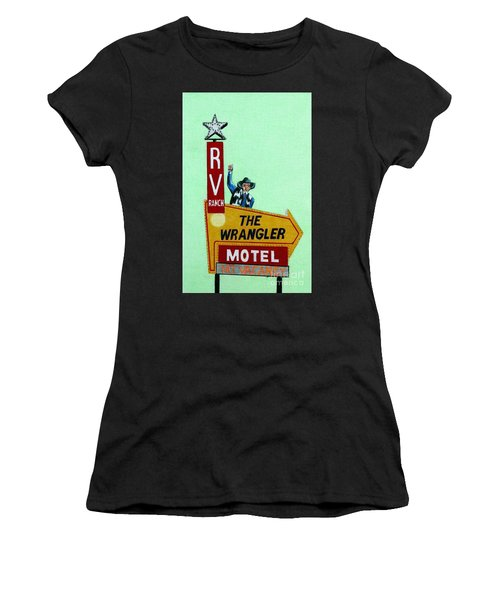 Wrangler Motel Women's T-Shirt (Athletic Fit)