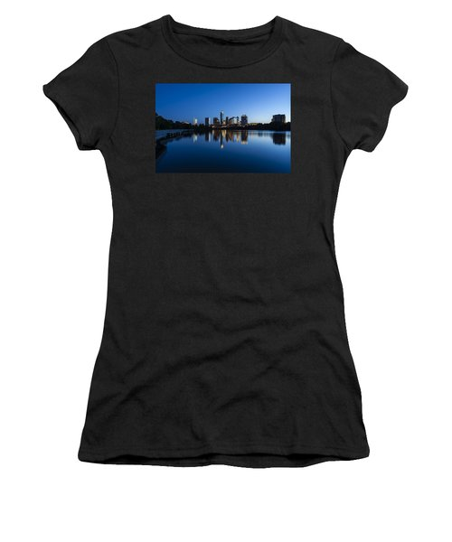 Wrapped In Blue Women's T-Shirt