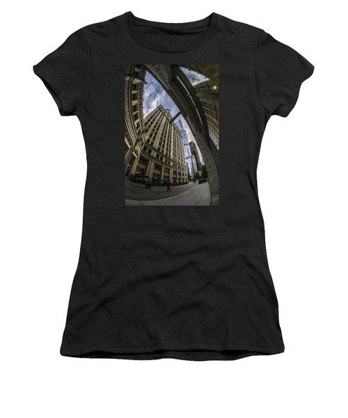 Wrigley And Trump A Fisheye View Women's T-Shirt