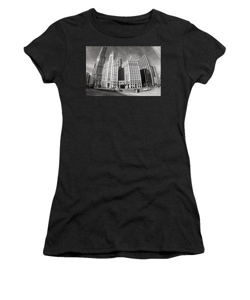 Wrigley Building - Chicago Women's T-Shirt