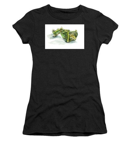 Wrinkled Dollar Women's T-Shirt