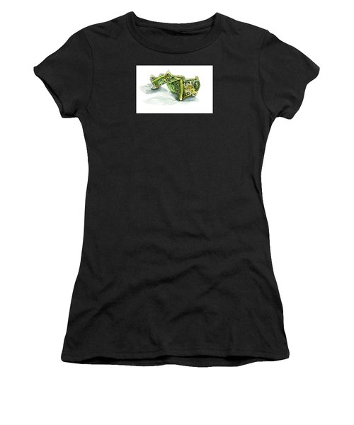 Wrinkled Dollar Women's T-Shirt