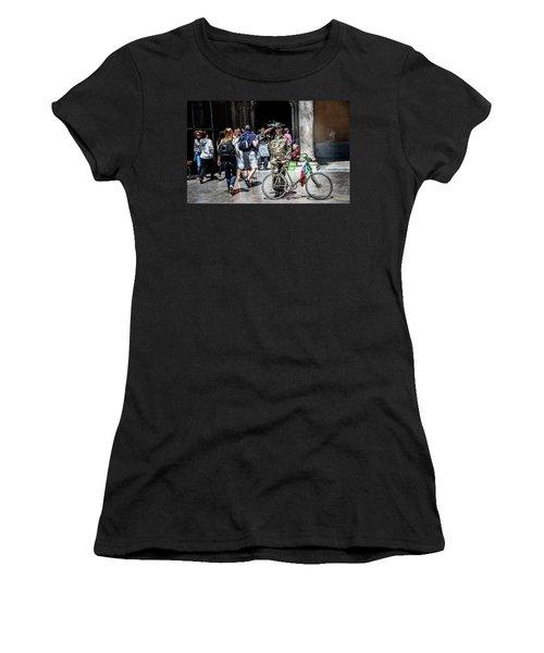 Ww II Soldier Women's T-Shirt (Athletic Fit)