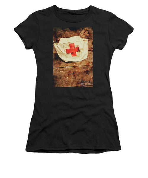 Ww2 Nurse Hat. Army Medical Corps Women's T-Shirt